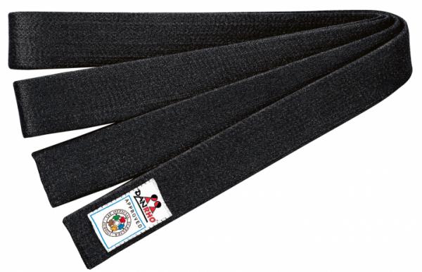 Judo-Gürtel schwarz IJF rec.