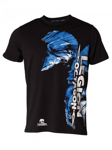 Legion Octagon MMA T-Shirt Blue Head von: Legion Octagon