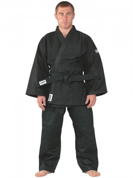 Judo-Anzug Training, schwarz