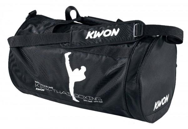 KWON Tasche Small, Druckmotiv Kick-Thaiboxing