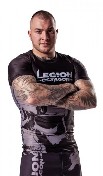 LEGION OCTAGON Rash Guard Kurzarm