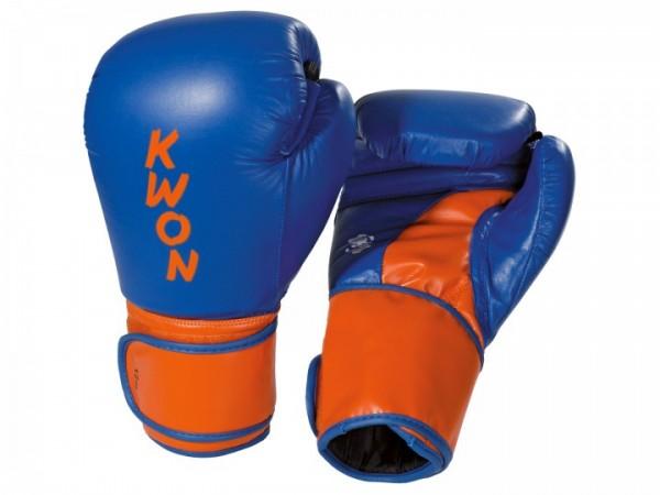 Boxhandschuhe Super Champ, blau-orange
