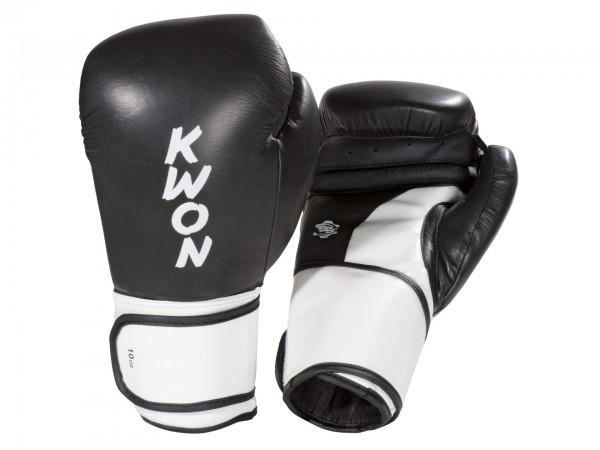 Boxhandschuhe Super Champ, schwarz-weiss