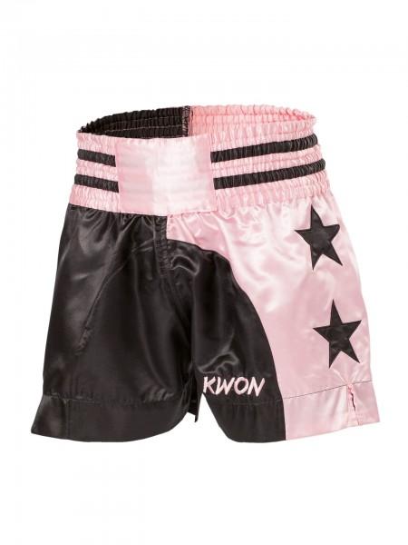 Thaibox Shorts Lady pink/schwarz