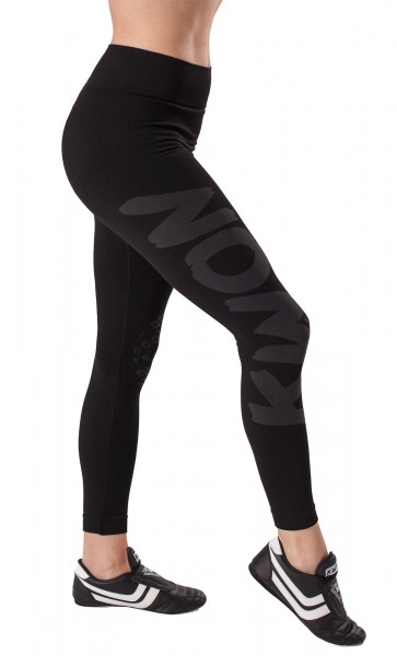 Damen Funktionsleggings schwarz