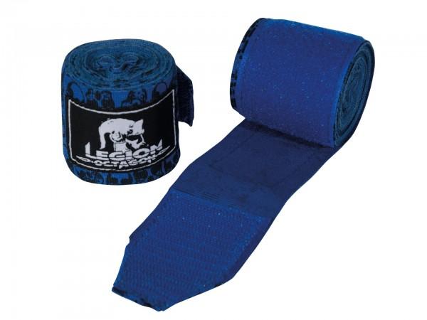 L.O. Blue Skull Boxbandagen