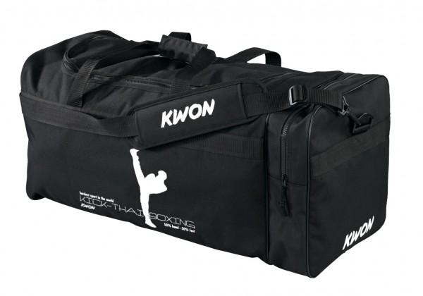 KWON Tasche Large, Druckmotiv Kick-Thaiboxing