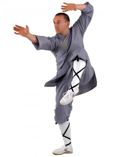 Shaolin Anzug, in grau