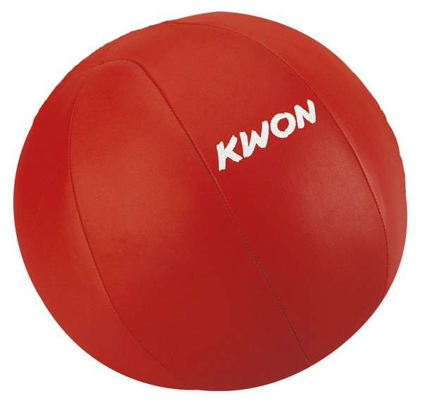 Medizinball, rot, 5 Kg
