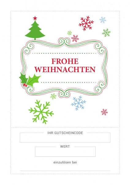 Gutschein / Motiv: Christmas