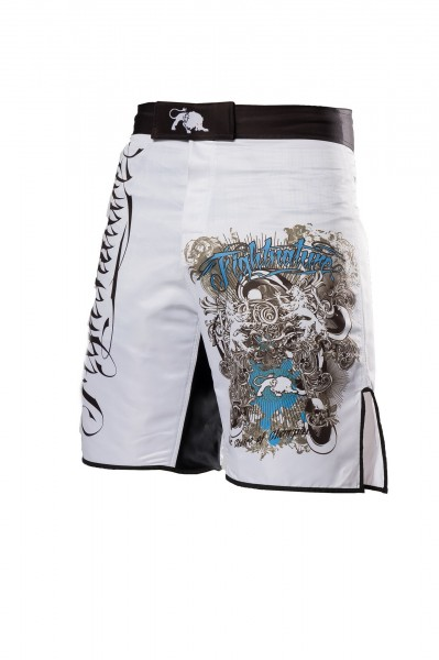 Fightnature Shorts Predator weiss