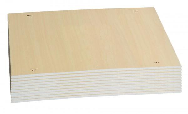 Einweg-Bruchtestbretter-10er Set Plastik