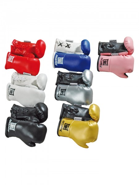 Mini Boxing Gloves / Mini Boxhandschuhe in 7 Farben