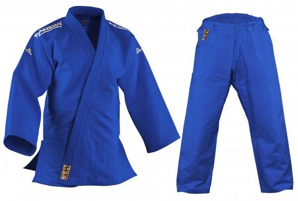 Judo Wettkampfanzug KANO, blau