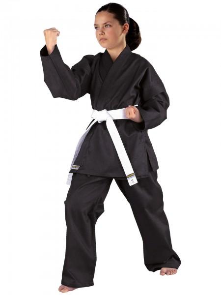 Karateanzug Shadow, schwarz