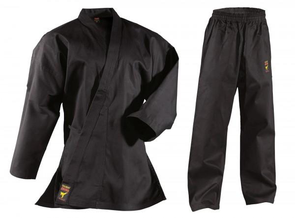 Karateanzug Asia Shiro, schwarz